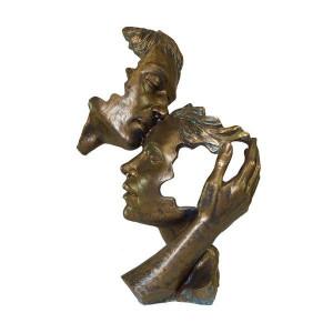 """Closeness"" Anglada sculpture"