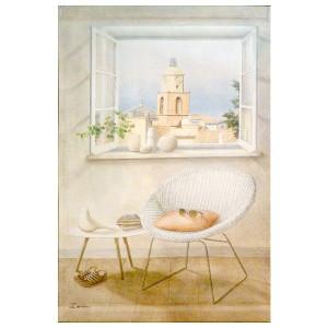 "Toile murale ""St Tropez"""