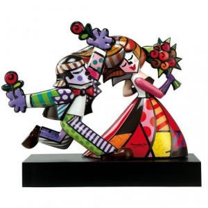 """Follow me"" Romero Britto..."