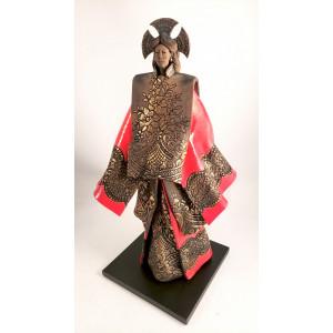 """Sculpture raku """"Geisha..."""