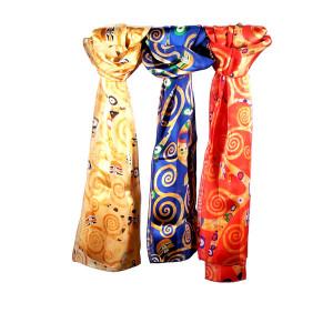 Foulard en soie Klimt...