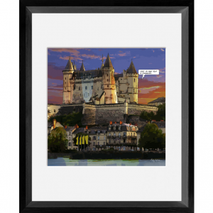 The Castle of Saumur frame...