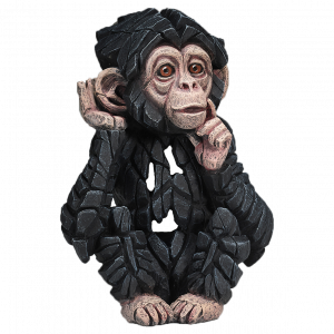 Sculpture bébé chimpanzé Edge