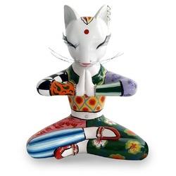 😌🙏 On reste ZEN!  Alors, avez-vous survécu au Blue Monday ? Nous oui, grâce aux créations inspirantes qui nous entourent 🤗 On vous propose de suivre ce chat Sadhou qui vous guidera vers une petite méditation 🧘♂️🧘♀️🌛 De quoi aborder sereinement la journée! #sadhou #sadhu #yoga #yogacat #yogapractice #zen #bluemonday #tomsdrag #tomhoffmann #chatyoga #chat #cat #statuette #figurine #sculpture #art #artisanat #colorful #maisondadam #maisondesartisans
