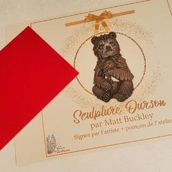 """🙀 """"Au secours!"""" Vous aviez craqué pour une création sur www.maison-artisans.com mais celle-ci n'est pas livrable pour Noël? Et si vous la précommandiez? Nous vous enverrons un joli bon cadeau à mettre au pied du sapin 🎄 dans l'attente du réapprovisionnement!  Le tour est joué et la magie de Noël continue! 🌨💫 #boncadeau #ideescadeauxnoel #ideecadeau #cadeauartisanal #cadeaudenoel #christmasgift #maisondadam #maisondesartisans #lamaisondesartisans #lamaisondadam #angers #sculpture #artisanat #art #artisan"""